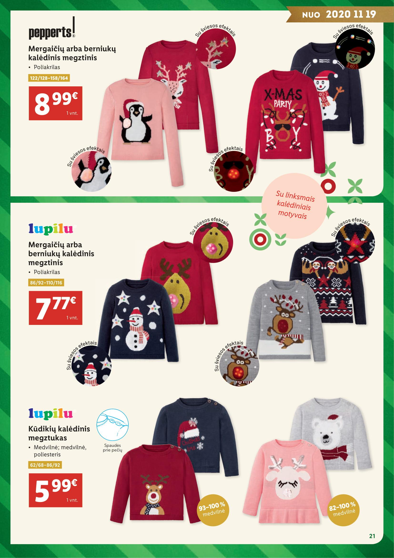 """LIDL Kalėdų katalogas """"Kalėdų stebuklą kuriame patys"""""""