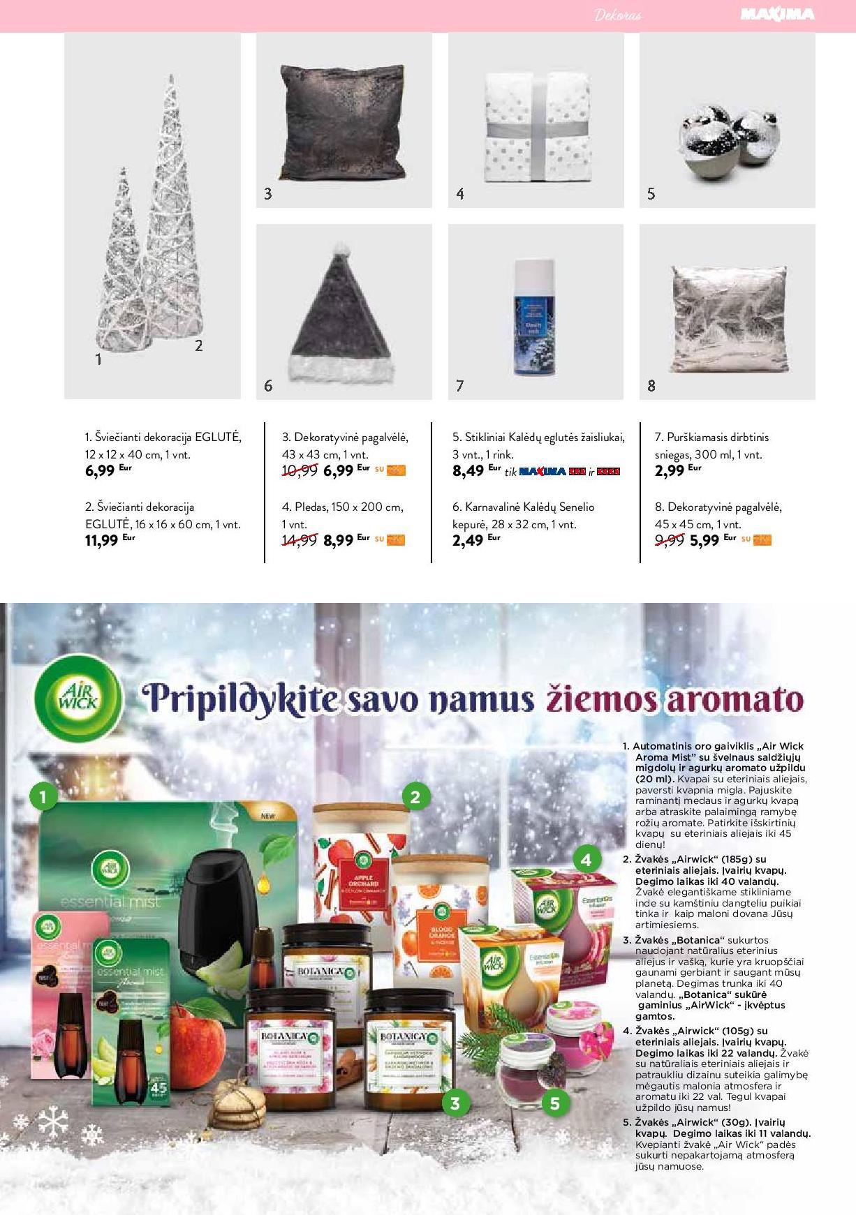 """MAXIMA žurnalas """"Sezonai"""" nr. 2 Žiema 2020 - 2021"""