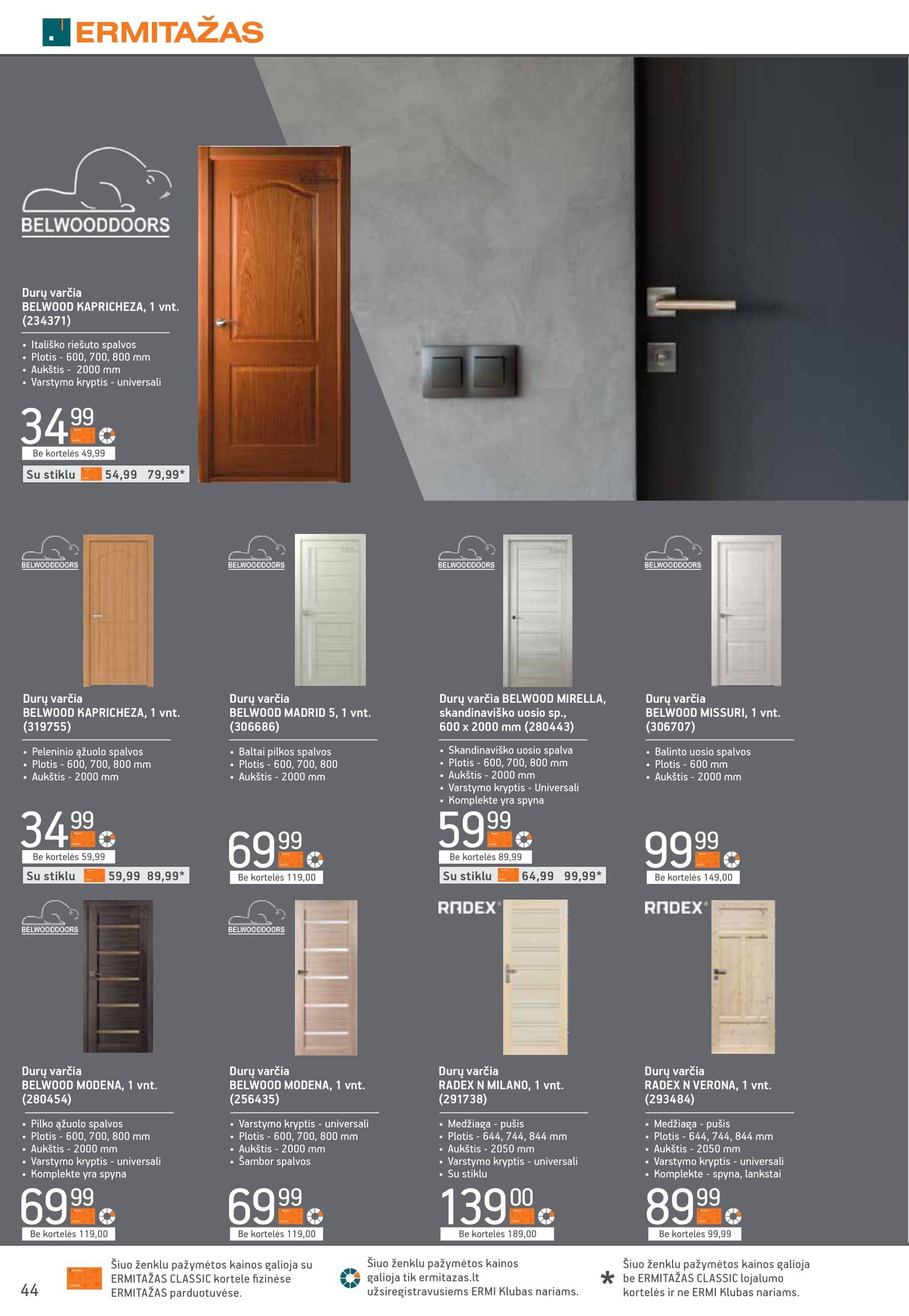 """ERMITAZAS katalogas """"Kad planai virstų namais"""" 2021.09.15 - 2021.10.12"""